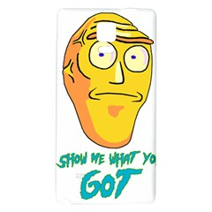 Show Me What You Got New Fresh Galaxy Note 4 Back Case