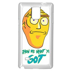 Show Me What You Got New Fresh Samsung Galaxy Note 4 Case (White)