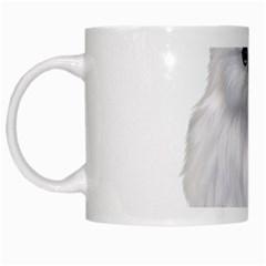 White Persian Cat Clipart White Mugs