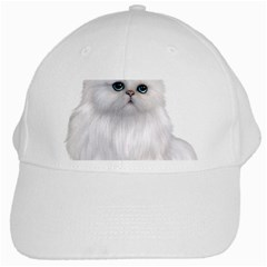 White Persian Cat Clipart White Cap