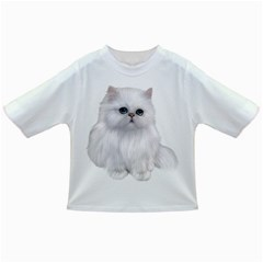 White Persian Cat Clipart Infant/Toddler T-Shirts