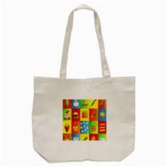 Christmas Things Tote Bag (Cream)