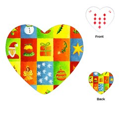 Christmas Things Playing Cards (Heart)