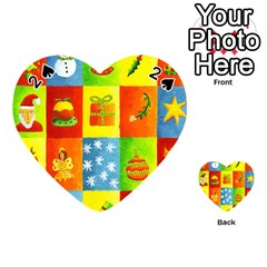 Christmas Things Playing Cards 54 (heart)