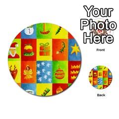 Christmas Things Multi-purpose Cards (Round)