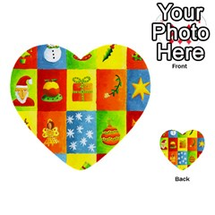 Christmas Things Multi Purpose Cards (heart)