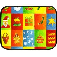 Christmas Things Fleece Blanket (Mini)