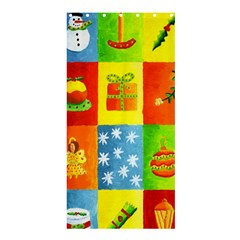 Christmas Things Shower Curtain 36  x 72  (Stall)