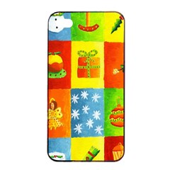 Christmas Things Apple Iphone 4/4s Seamless Case (black)