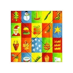 Christmas Things Acrylic Tangram Puzzle (4  x 4 )