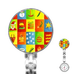 Christmas Things Stainless Steel Nurses Watches