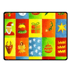 Christmas Things Double Sided Fleece Blanket (Small)