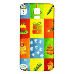 Christmas Things Samsung Galaxy S5 Back Case (White)