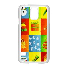 Christmas Things Samsung Galaxy S5 Case (White)