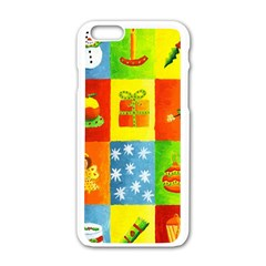 Christmas Things Apple Iphone 6 White Enamel Case