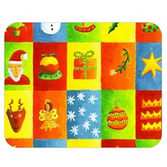 Christmas Things Double Sided Flano Blanket (medium)