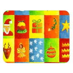 Christmas Things Double Sided Flano Blanket (Large)