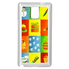 Christmas Things Samsung Galaxy Note 4 Case (White)