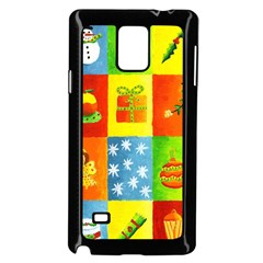Christmas Things Samsung Galaxy Note 4 Case (Black)