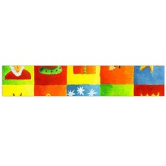Christmas Things Flano Scarf (Large)