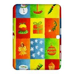 Christmas Things Samsung Galaxy Tab 4 (10 1 ) Hardshell Case