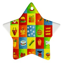 25 Xmas Things Ornament (star)