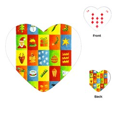 25 Xmas Things Playing Cards (Heart)