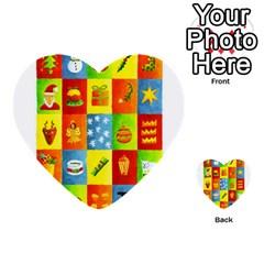 25 Xmas Things Multi-purpose Cards (Heart)