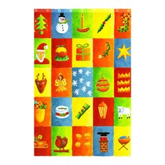 25 Xmas Things Shower Curtain 48  x 72  (Small)