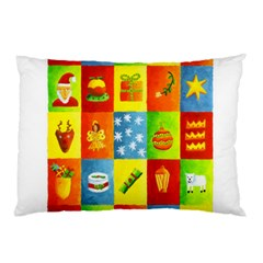 25 Xmas Things Pillow Cases (Two Sides)