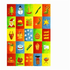 25 Xmas Things Small Garden Flag (Two Sides)