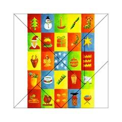 25 Xmas Things Acrylic Tangram Puzzle (6  X 6 )