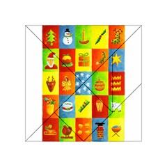 25 Xmas Things Acrylic Tangram Puzzle (4  x 4 )