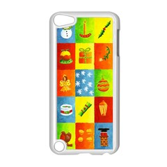 25 Xmas Things Apple Ipod Touch 5 Case (white)