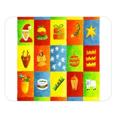 25 Xmas Things Double Sided Flano Blanket (large)