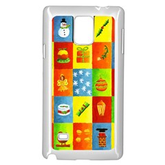 25 Xmas Things Samsung Galaxy Note 4 Case (White)