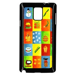 25 Xmas Things Samsung Galaxy Note 4 Case (Black)