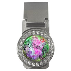 Abstract Music 2 Money Clips (cz)