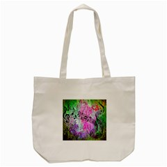 Abstract Music 2 Tote Bag (Cream)
