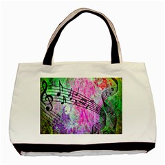 Abstract Music 2 Basic Tote Bag