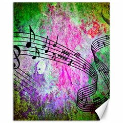 Abstract Music 2 Canvas 11  X 14