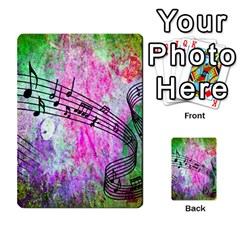 Abstract Music 2 Multi-purpose Cards (Rectangle)