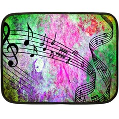 Abstract Music 2 Fleece Blanket (mini)