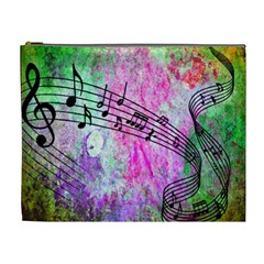 Abstract Music 2 Cosmetic Bag (xl)