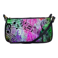 Abstract Music 2 Shoulder Clutch Bags