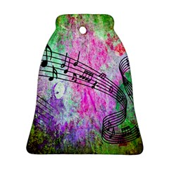 Abstract Music 2 Bell Ornament (2 Sides)