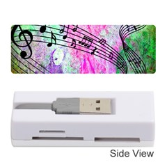 Abstract Music 2 Memory Card Reader (Stick)