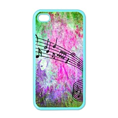 Abstract Music 2 Apple Iphone 4 Case (color)