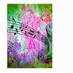 Abstract Music 2 Large Garden Flag (Two Sides)
