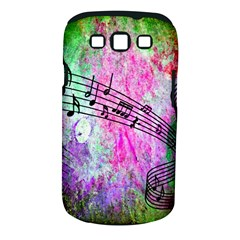 Abstract Music 2 Samsung Galaxy S Iii Classic Hardshell Case (pc+silicone)